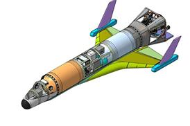дрон, беспилотник, космос, многоразовый летательный аппарат