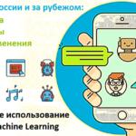 Как Big Data и Machine Learning разговаривают с вами: чат-боты в России и за рубежом