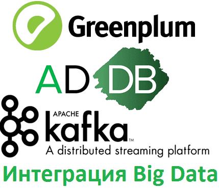 Big Data, Большие данные, обработка данных, архитектура, SQL, Greenplum, Arenadata, Kafka, интеграция Гринплам и Кафка
