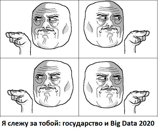 Я знаю, что вы делали прошлым летом и сегодня утром: как государство и бизнес собирают Big Data о каждом из нас
