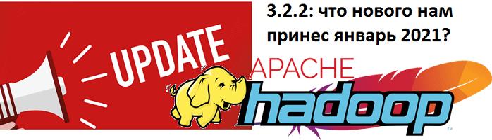 Apache Hadoop 3.2.2 - свежий релиз 2021: краткий обзор главной технологии Big Data